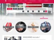 screenshot http://www.imagimmo-mauguio.com/ agence immobilière à mauguio 34 – imagimmo mauguio