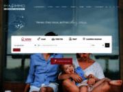 screenshot http://www.imagimmo.com location et vente d'immobilier à montpellier 34