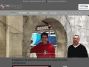 screenshot http://www.imipierre.fr/ Imipierre propose un enduit projeté imitation pierre naturelle