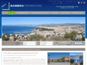 screenshot http://www.immobilier-barbera-nice.com villa d'exception french riviera
