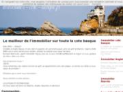 Agence immobilière côte basque