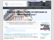 Déficit foncier : programmes et investissement