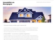 screenshot http://www.immobilier-en-bourgogne.com immobilier