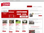 screenshot http://www.immobilier-hazebrouck.com agence immobilière hazebrouck