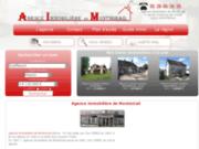 screenshot http://www.immobilier-montmirail.com immobilier marne