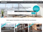 Agence immobilière Saint Jean de Luz