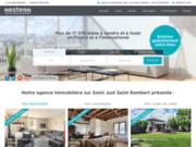 Agence immobilière Saint Just Saint Rambert