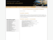 screenshot http://www.immobilierlanguedoc.fr immobilier languedoc
