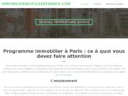 screenshot http://www.immobilierneufiledefrance.com neufs