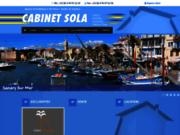 screenshot http://www.immobiliersola.com/ immobiliers à six fours