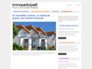 screenshot http://www.immoparticipatif.fr/ Habitat participatif