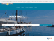 screenshot http://www.immosoleil.fr agence immobiliere la ciotat