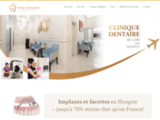 screenshot http://implant-dentaire-en-hongrie.fr Implant dentaire en Hongrie