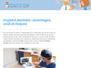 screenshot http://www.implantologie-dentaire.net/ Chirurgie dentaire Bordeaux