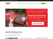 screenshot http://www.imprimerie-villiere.com imprimerie villière - imprimer naturellement