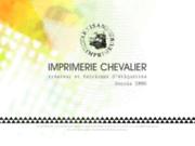 screenshot http://www.imprimeriechevalier.com imprimerie chevalier