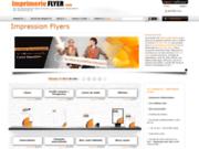 screenshot http://www.imprimerieflyer.com/ Impression en ligne