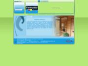 screenshot http://www.imprimerieparmentier.com/ imprimerie à mouscron