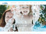 screenshot http://www.in-aqua.com in'aqua piscines  créateur de joie