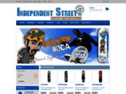Independentstreet.fr : le spécialiste sur skate