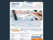 screenshot http://www.indicateur.net/ indicateur - appel d'offre construction
