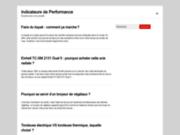 screenshot http://www.indicateurs-performance.fr indicateurs de performance