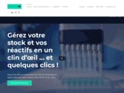 screenshot https://ineonfree.com logiciel pour laboratoires