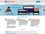 screenshot http://www.infiniclick.fr infini'click