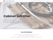 screenshot https://www.infirmiere-villeneuvedascq.fr/ infirmière