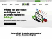 screenshot http://www.infologic-copilote.fr progiciel de gestion intégrée agro-alimentaire.