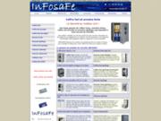screenshot http://www.infosafe.fr un coffre-fort infosafe pour la sécurité de vos valeurs