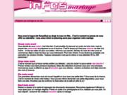 screenshot http://infosmariage.online.fr infosmariage, le guide de votre mariage