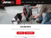 Infra DG: Spécialiste un drainage de fondation de maison et en inspection de drain français