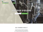 screenshot http://www.ingeco.fr ingeco : cabinet d'ingénierie générale basée à lyo