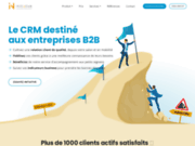 screenshot https://initiative-crm.com Logiciel CRM pour PME