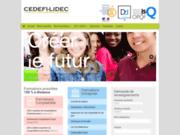 screenshot http://www.institut-etudescomptables.com enseignement supérieur privé paris