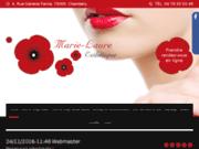 screenshot http://www.institut-mlaure-chambery.com/soin-visage-guinot.php soin visage guinot