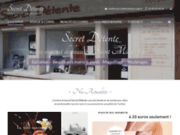 screenshot http://www.institut-secretdetente-16.com institut de beauté secret détente à saint michel