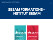 screenshot http://www.institut-sesam.com institut sesam prepa concours et formation en alternance