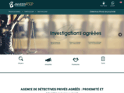 screenshot https://investipole.fr/detectives-paris/ Investipole