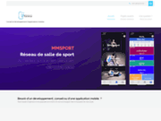 screenshot http://ipcrea.com société de création d'applications mobiles