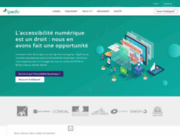 screenshot http://www.ipedis.com/ conseil en accessibilité web