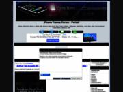 screenshot http://iphone-france.keuf.net iphone france forum - portail