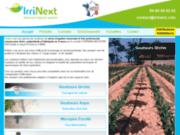 Systèmes d'irrigation pour l'agriculture - Irrinext : Advanced irrigation systems