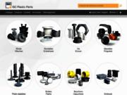 Embouts, Embouts finition, Rondelles, Passe-câbles, Vis, Rivet, Bagues - Pièces en plastique - ISC