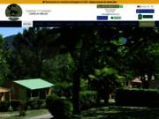 screenshot http://www.iserandcampingardeche.com camping en ardèche avec piscine