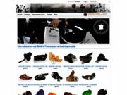 screenshot http://www.isheis.com Ceinture cuir noir