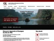 screenshot http://www.iteqg.com tuina, l'art du massage chinois - iteqg.