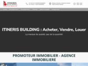 screenshot http://www.itineris-building.fr bienvenue sur le site d'itineris building - philippe vigneron  -  itineris building : promoteur / constructeur  clermont-ferrand - auvergne