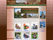 screenshot http://www.itroika.com artisanat russe